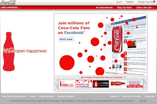 """Fan First"" Coca Cola Social Media"