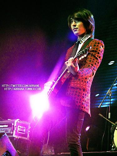 Jonghoon on guitar