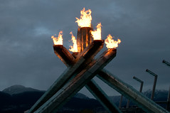 DSC_5056 (the PhotoPhreak) Tags: winter vancouver whistler fire symbol flame olympic cauldron 2010 paralympic