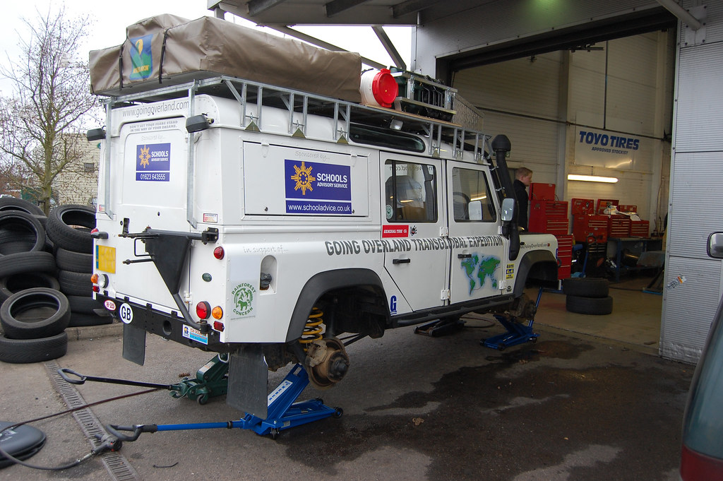 Landy ready for his new tyres