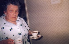 Image titled Margaret Gordon, Garthamlock, 1986.