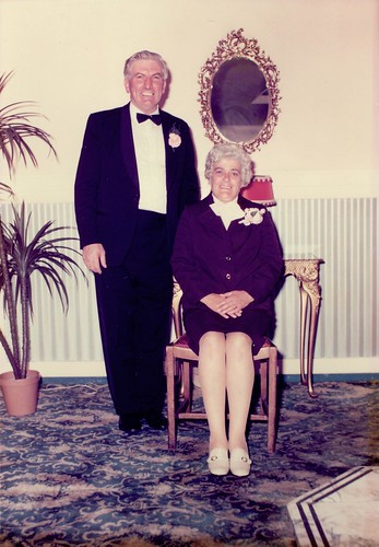 Arthur and Elizabeth McArdle At Their Daughter's Wedding 1975