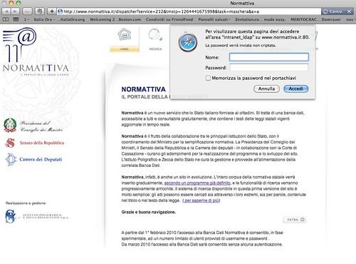Normattiva.it - marzo 2010