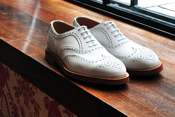 Crocket & Jones brogue