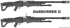 Harkonnen 30mm Portable Cannon (Alpha216) Tags: 2 action ii bolt cannon hellsing 30mm harkonnen