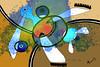Hundertwasser (alain vaissiere) Tags: color colour cute art colors illustration photoshop design photo mixed expo drawing space creative dessin moderne graff toulouse alain couleur charme graffic artiste graphique contemporain vaissiere graffist graffiphoto wwwalainvaissierecom