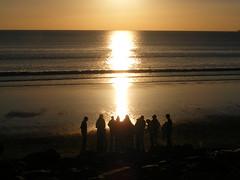 Kumbaya Lahinch Style (garycollins2) Tags: ocean sunset people beach style atlantic humans lahinch kumbaya lehinch