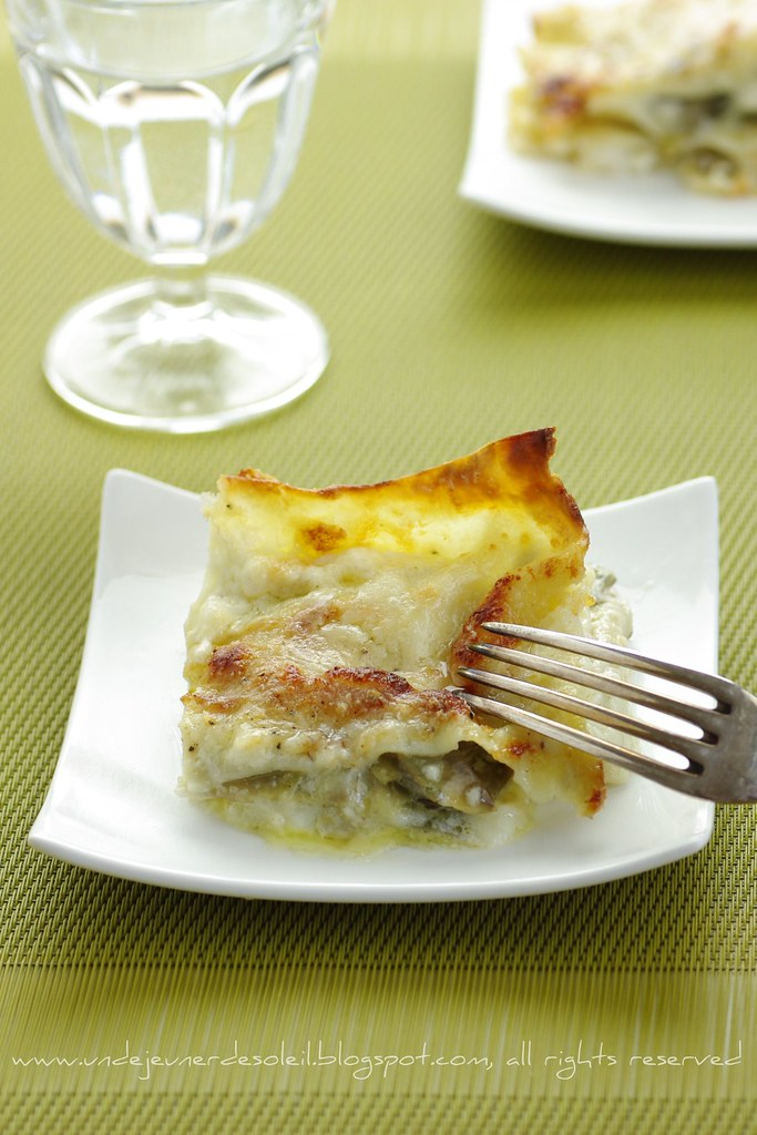 Lasagne ai carciofi, burrata e pecorino