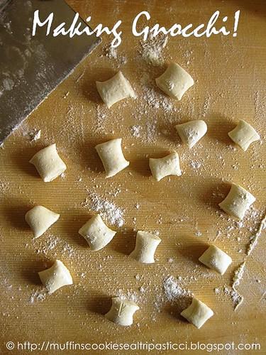 Making gnocchi!