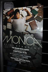 monica still standing album release party pictures