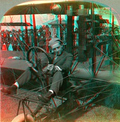 Art Smith & His Plane, San Francisco, CA 1915  anaglyph3D (depthandtime) Tags: sanfrancisco california old history vintage airplane found stereoscopic stereophotography 3d view antique aviation anaglyph aeroplane stereo exposition card views stereoview keystone stereograph 1915 aviator foundphoto stereoscope anaglyphic stereographic redcyan stereocard artsmith stereoscopeview panamapacificinternationalexpo