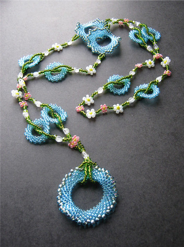 Sky Blossoms Necklace by The Sage's Cupboard