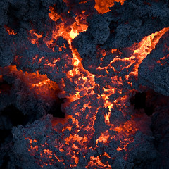 1200c Lava at Fimmvruhls (KristjnFreyr) Tags: favorite hot canon iceland rocks 5d fav eruption sland essi hraun mrdalsjkull fimmvruhls 2470 volcanism eldgos canon2470mmf28usml visipix