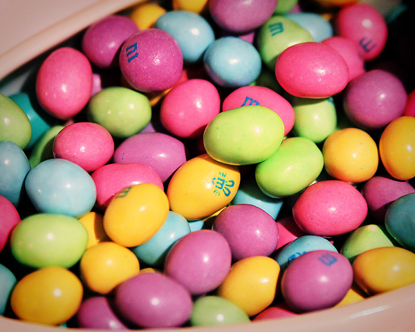 Easter m&m's rs