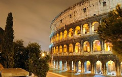 Colosseo Plumbeo (Michele Cannone) Tags: sky rome roma rain rainy pioggia colisseum colosseo