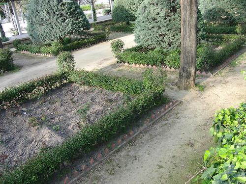 anatomía del parque de la victoria de jaén: jardín