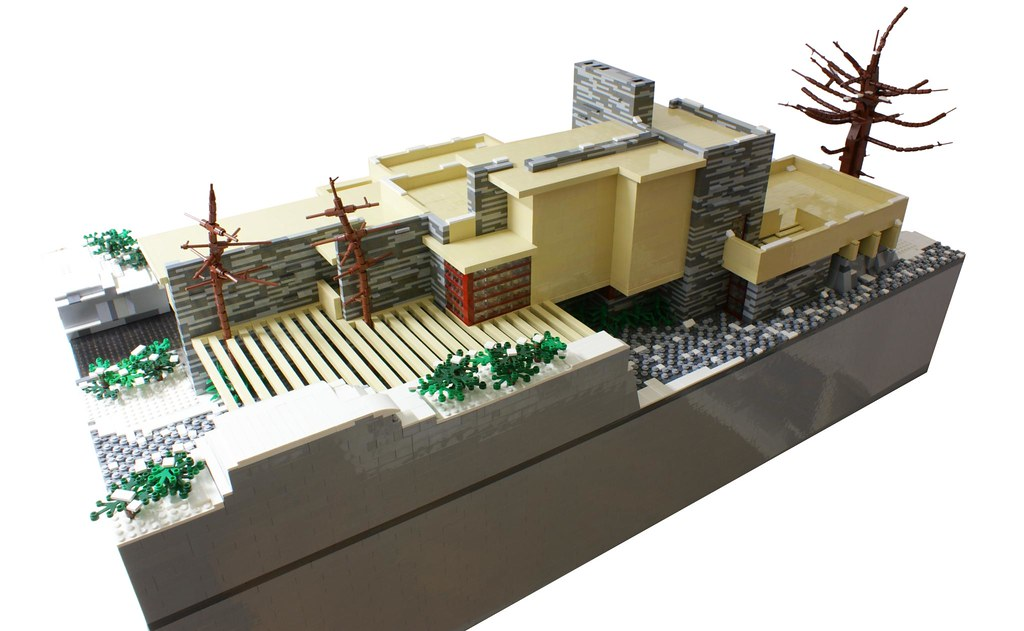 The world 39 s best photos of moc and wright flickr hive mind - Lego falling waters ...