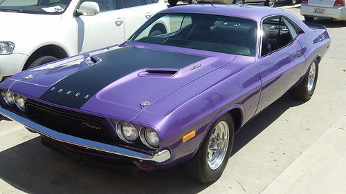 1973 Plum Crazy Challenger