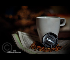 II..II   II..II |Explore| (Abdulrahman AL-Dukhaini || ) Tags: morning coffee 50mm nikon good  d90