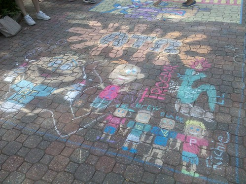 Alpha Tau Omega's Chalk on the Mall