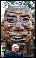 Bald men (Denise Cochran) Tags: man statue bald baldmen