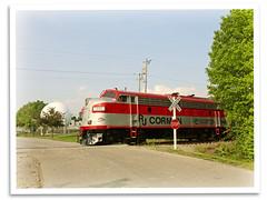 Jimmie Campbell (bogray) Tags: train lexington ky locomotive f7 emd dieselelectric rjcorman oldkentuckydinnertrain