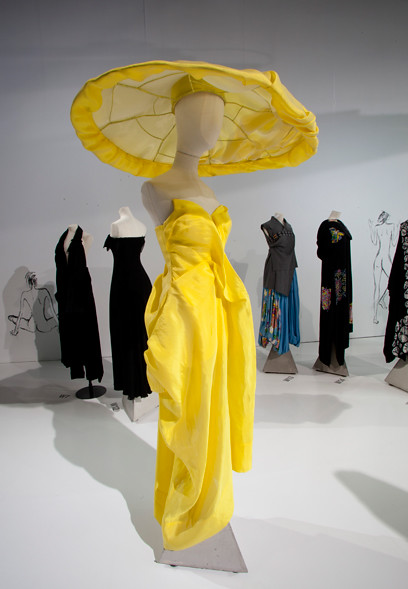 Yohji-yellowstraplesssildress