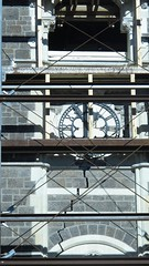 And what time did the quake strike? (Tamamareen) Tags: new christchurch scaffolding clocktower crack zealand lizybones