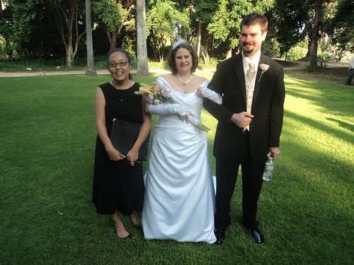 Arcadia Officiant / Celebrant for Wedding at Los Angeles Arboretum