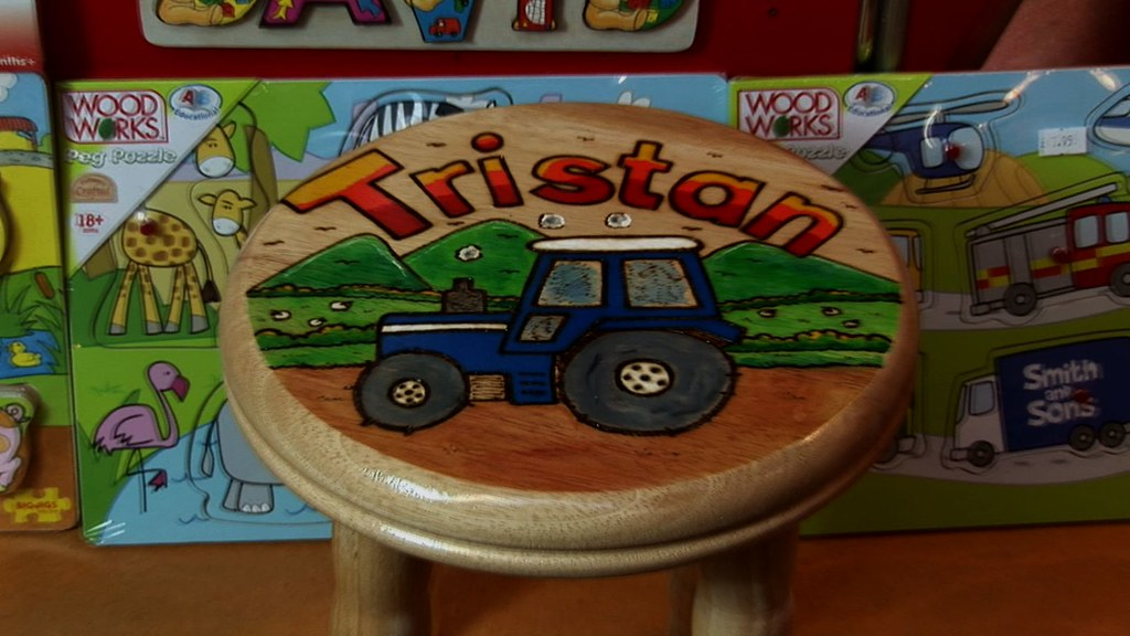 Personalised wooden toys at Tawny Owl toys
