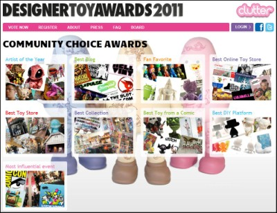Designer Toy Awards 2011