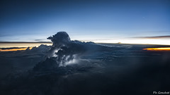 Africa storm at sunset (Philippe Goachet) Tags: storm cockpitcapture ciel airliner avion airline aérien air night nuages nuit cloud envol éclair cb cumulonimbus lightning orage sunset fromabove inflight africa sony rx100