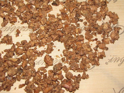 dehydrating acorn meal