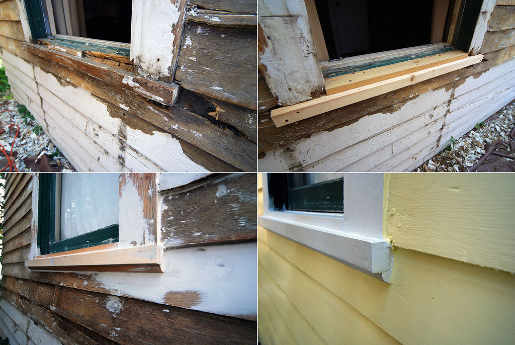 Small House Window - Rot and Replace