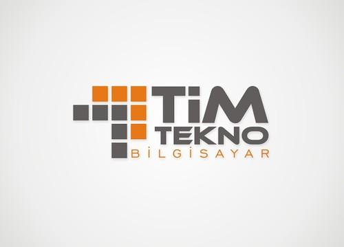Tim Tekno Bilgisayar Logo Tasarım