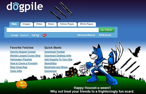 Halloween - Dogpile