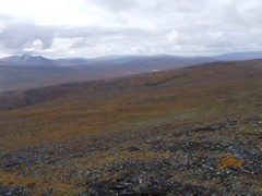 Ridge Top 360 (Travis S.) Tags: mountains alaska clouds river movie video hill clip ridge valley atv nome survey saddle allterrainvehicle 6wheeler sewardpeninsula stewartriver sinuk horseshoeridge sinukriver stewartrivericepatchsurvey southtosouthwest sinukrivervalley
