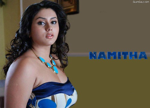 Actress Namitha Kapoor