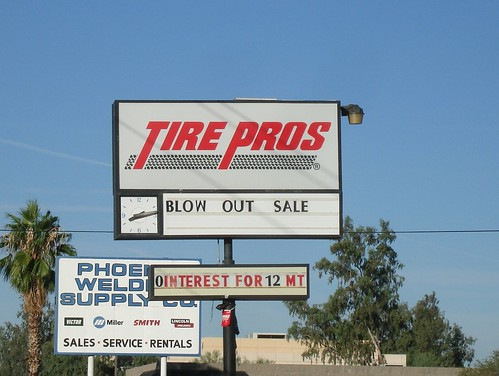 Blow out tire sale by midiman