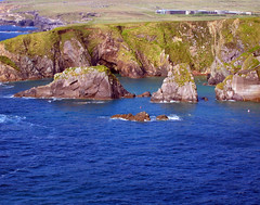 Sea Cliffs in Ireland (Colorado Sands) Tags: ocean ireland sea irish museum coast europa europe european shoreline eire cliffs coastal coastline dunquin dinglepeninsula countykerry sandraleidholdt lirlande blasketcentre leidholdt sandyleidholdt