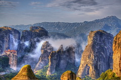 Misterious Meteora (Kounellis) Tags: 5photosaday colorphotoaward thepowerofnow