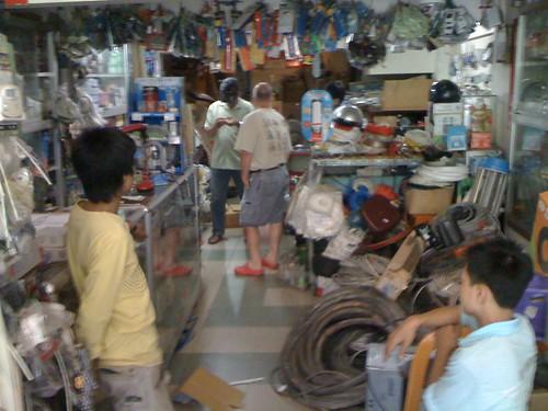 Electronics store, Saigon, Vietnam