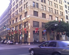 Continental Bldg bows