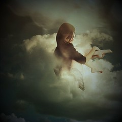 l♥v ...sky (memeo1) Tags: sky cloud selfportrait self dream surreal sp themonalisasmile