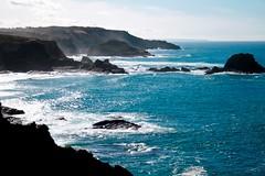Zambujeira do Mar -  Portugal (Chrismatos ♥90% OFF, sorry) Tags: ocean blue sea praia beach portugal water azul canon landscape fun mar agua europa europe places paisagem oceano locais travell vosplusbellesphotos