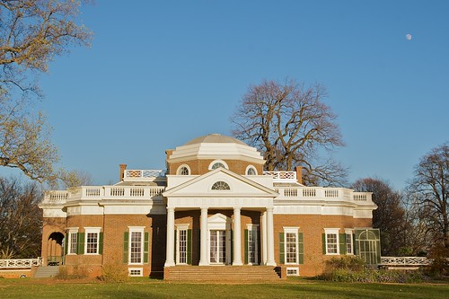 Monticello at Moonrise