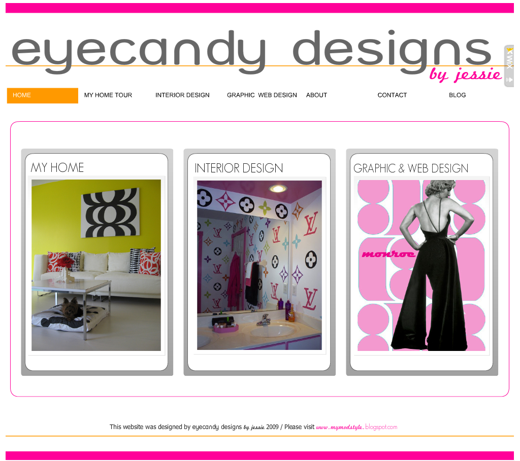 My Website - Front Page - Dec 09