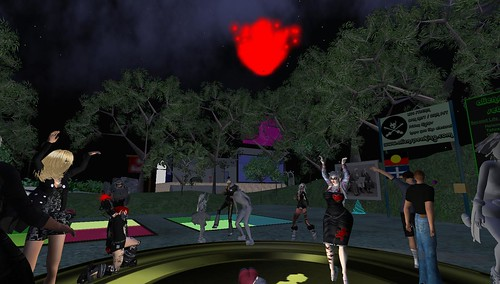 alienspeaking party in second life