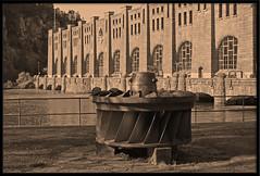 Olidan (Arne Arvidsson) Tags: francis sweden schweden sverige powerplant powerstation hydroelectric trollhättan götaälv vattenfall waterturbine vattenkraftverk olidan francisturbine olidestationen