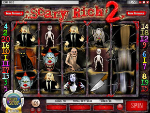 Scary Rich 2 slot game online review